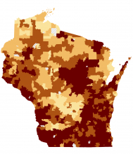 Radon Information for Wisconsin from WI Department of Health brought to you from Racine Radon Testing and Mitigation (262) 955-6696